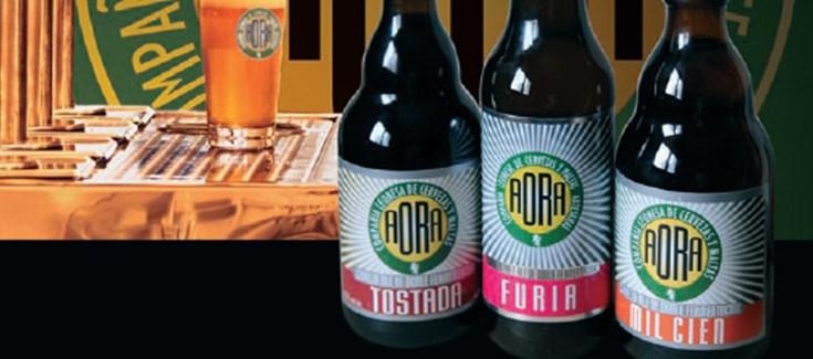 La Cerveza AORA colabora en el evento divulgativo de la Noche de los Investigadores